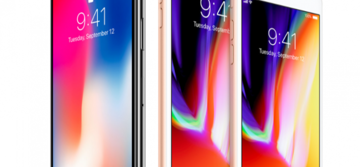 De iPhone 8 en de iPhone X: de belangrijkste verschillen