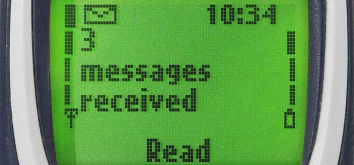 De opgang en ondergang van SMSen